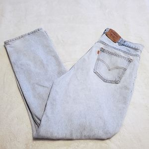 Vintage Levi's 35 x 31 506 Straight Leg Jeans